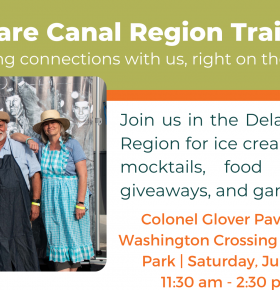 Join us for D&L Trail Party at Washington Crossing Historic Park